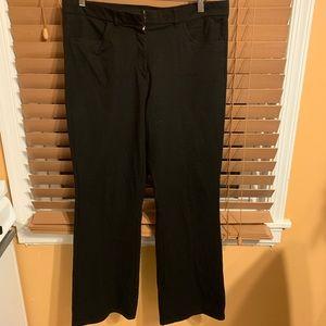 Isaac Mizrahi LIVE! Black, Cropped Pant Sz14